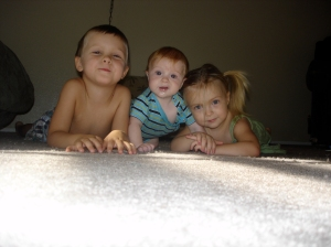 The Littles from back in the day when I was a good park Mom.