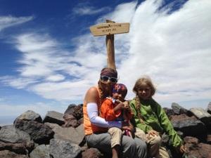 Ladies at the summit!