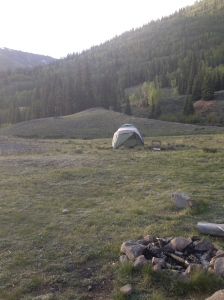 Our home for a couple nights.