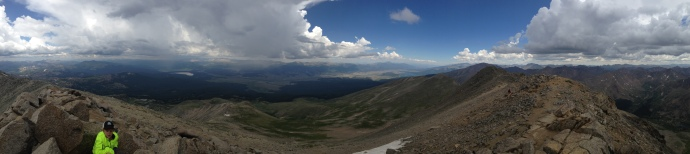 Why we hike 14ers.