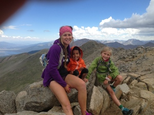 Girls on the summit!