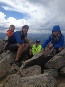 Boys on the summit!