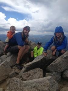 Boys on the summit!