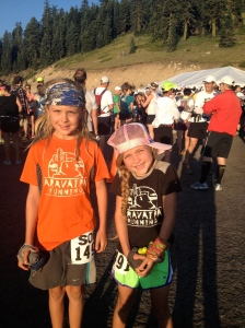 My two amazing Littles at the start.