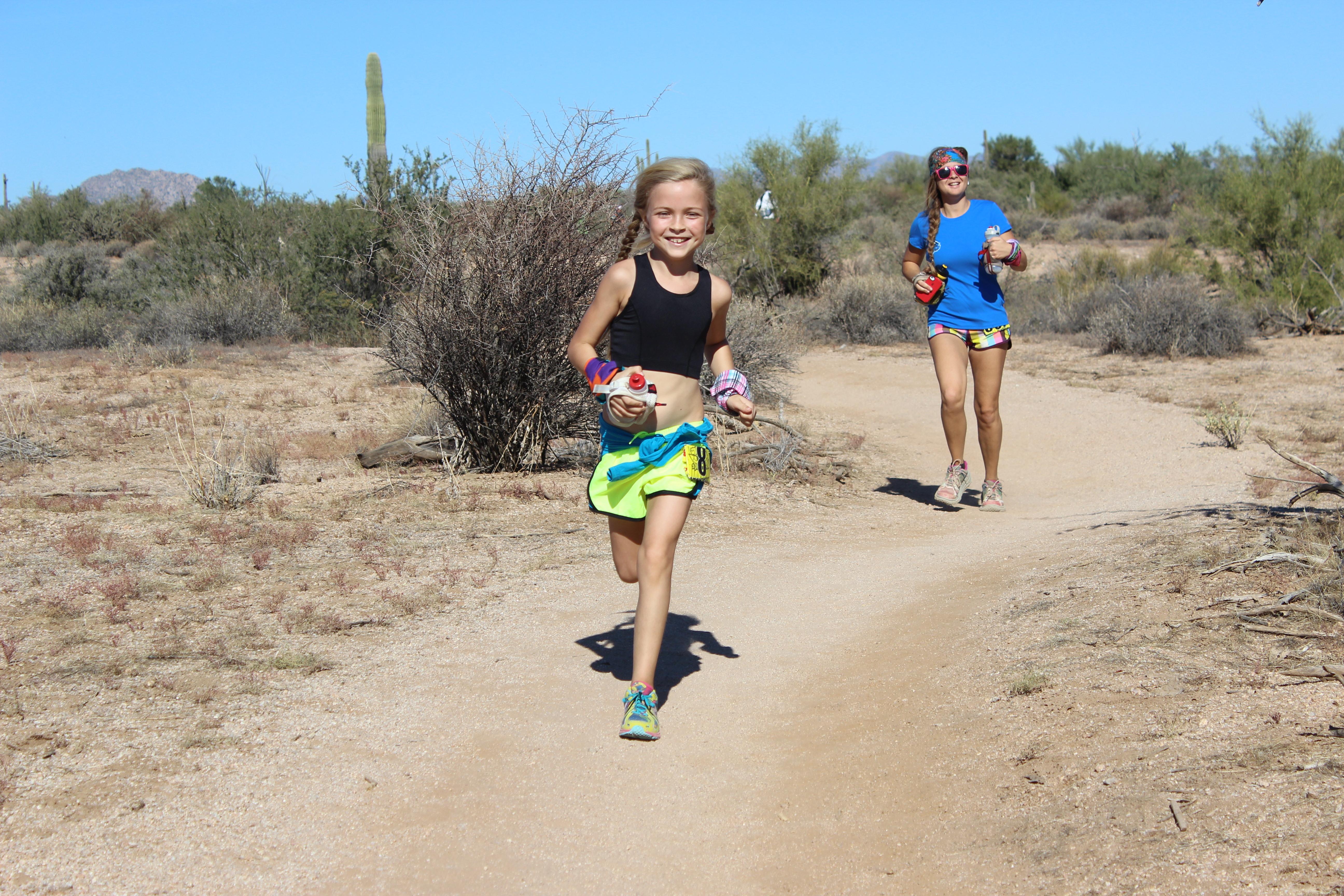 Running Girls   Seven Wild And Free