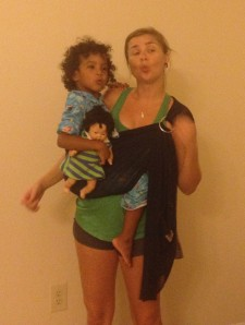 Her Baby needed a photo op.