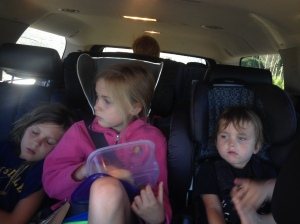 They were all thrilled to be woken up early.