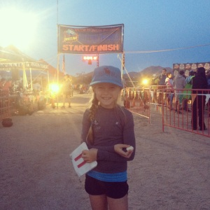 The cutest runner out there! And rocking her Run Steep and Ivivva gear!