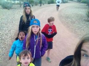 Family Lap selfie.